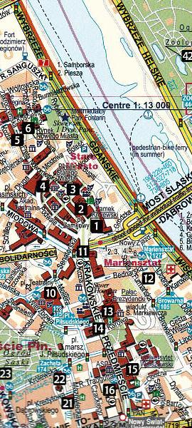 Mestna karta Varšava 2017