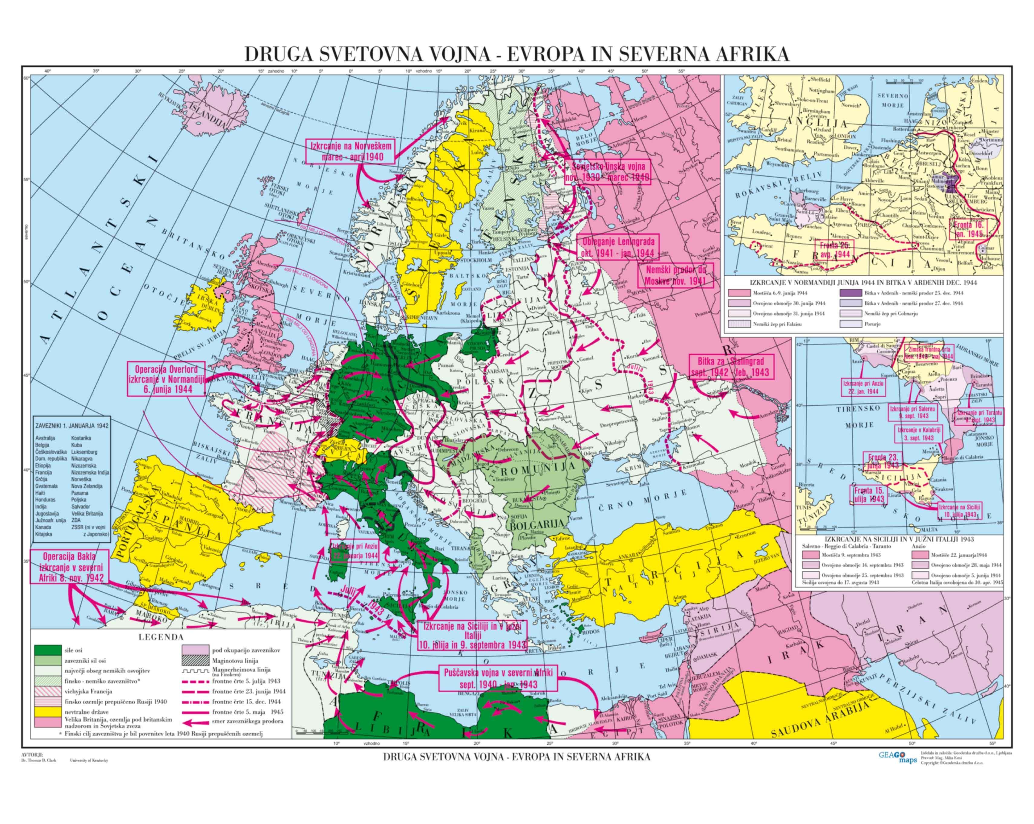 Druga svetovna vojna - Evropa in Severna Afrika
