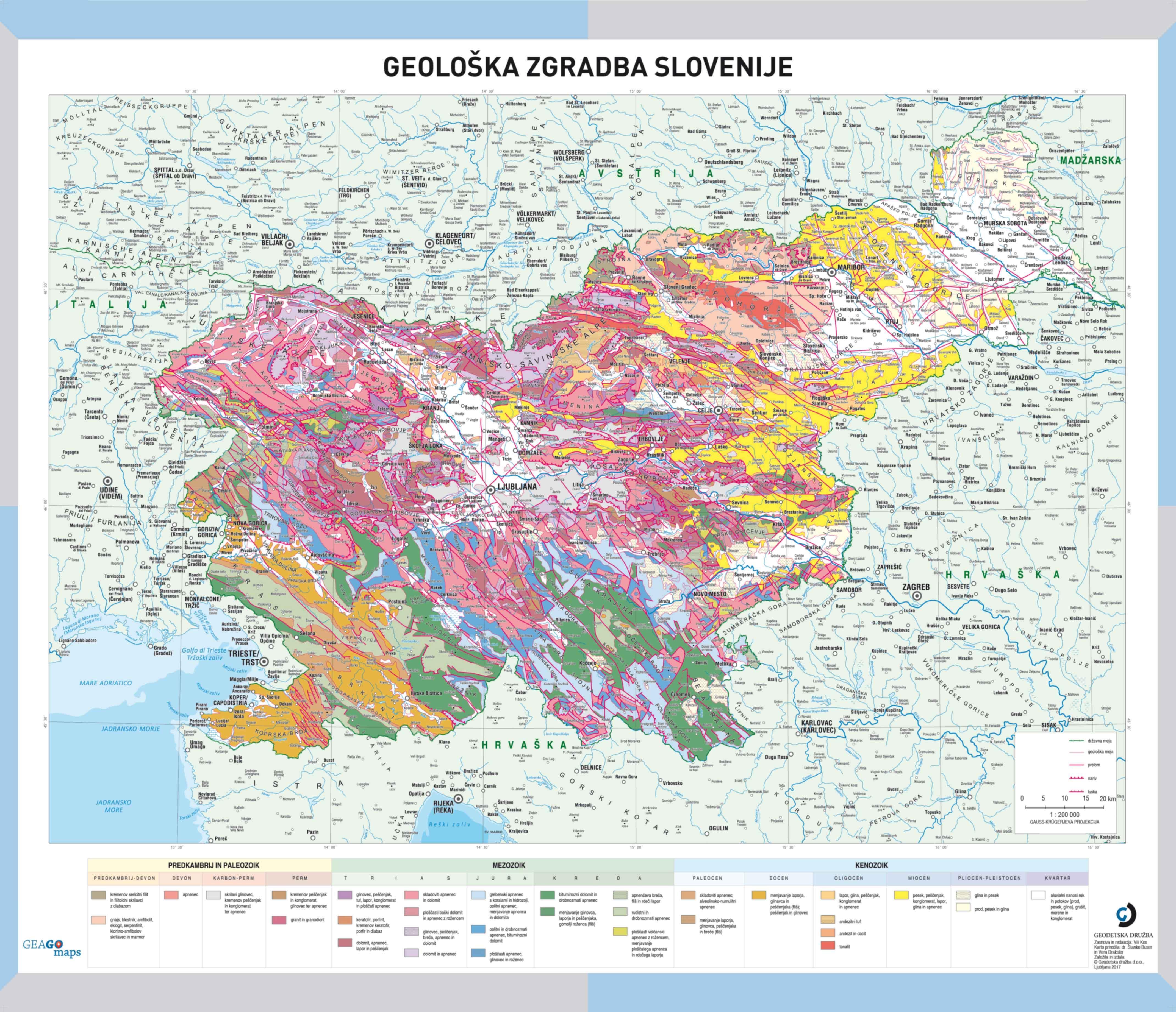 Geološka zgradba Slovenije