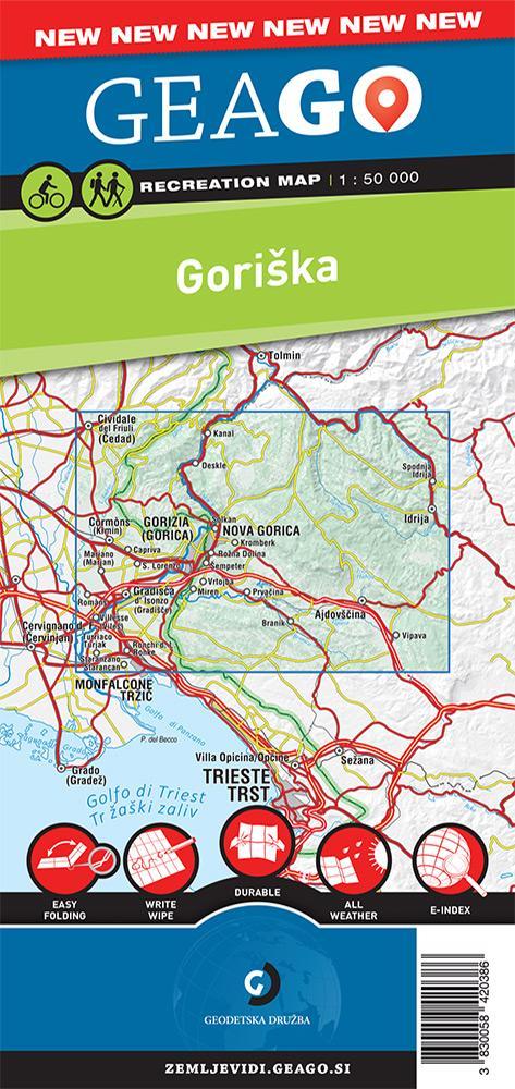 Rekreacijska karta Goriška