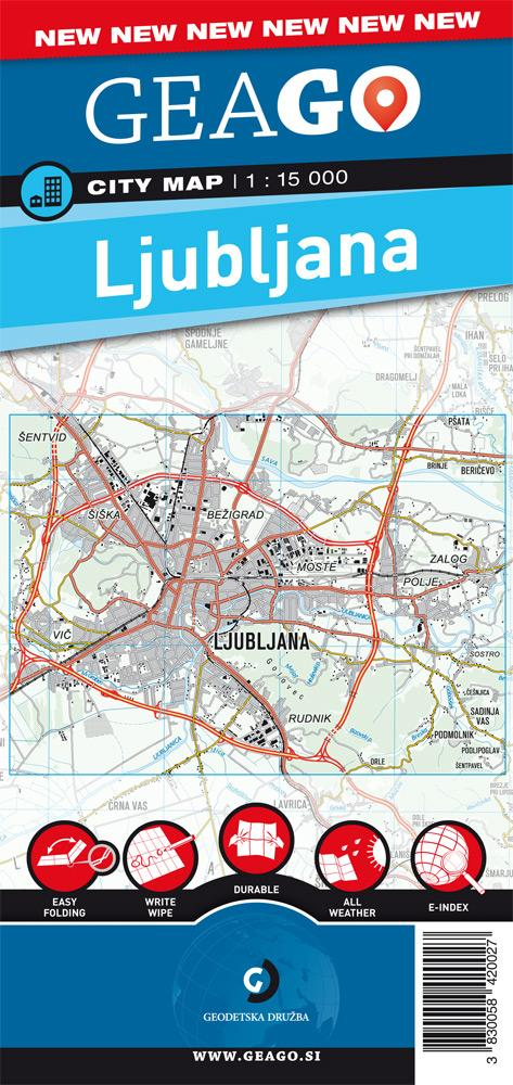Mestna karta Ljubljana