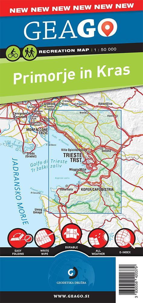 Rekreacijska karta Primorje in Kras