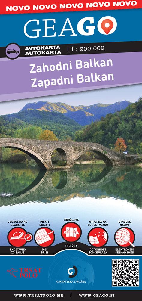 Avtokarta Zahodni Balkan, 2018