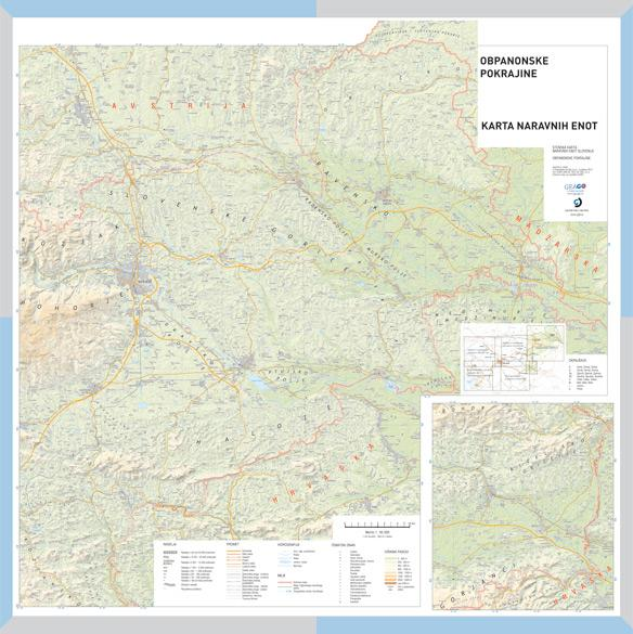Šolska karta Obpanonska pokrajina