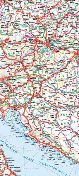 Avtokarta Evropa