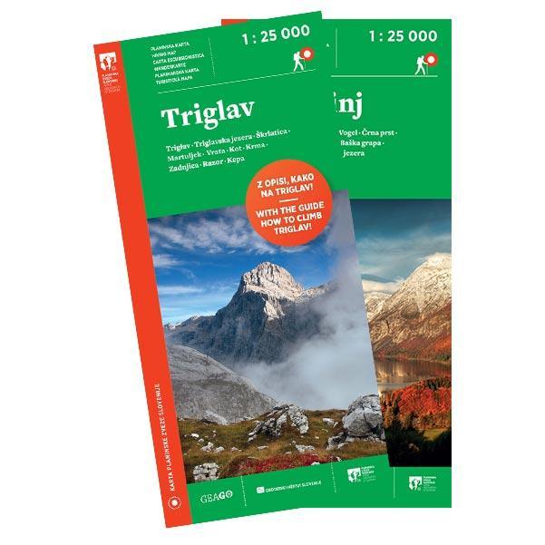 Komplet planinskih kart Triglav, Bohinj