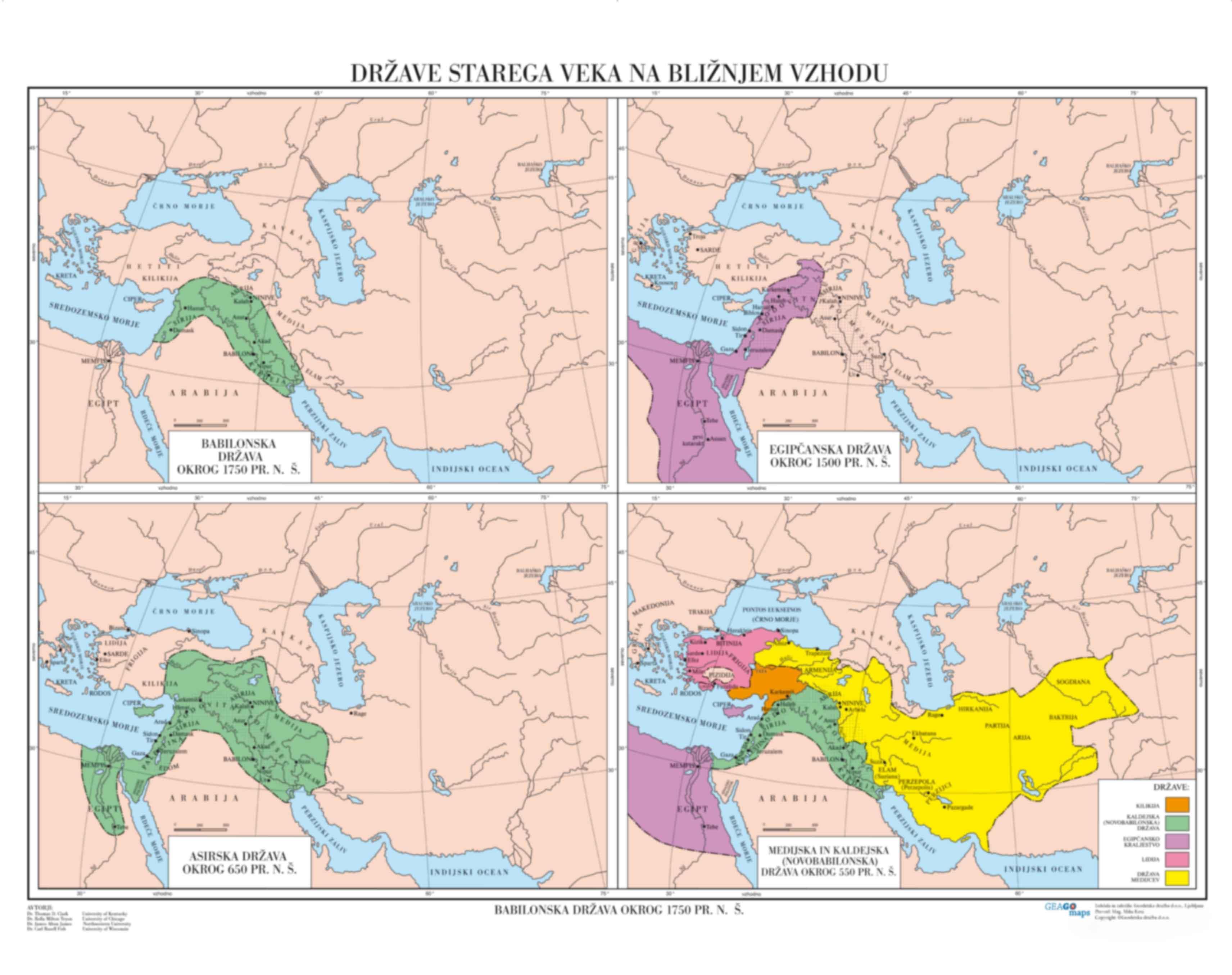Države starega veka na Bližnjem vzhodu