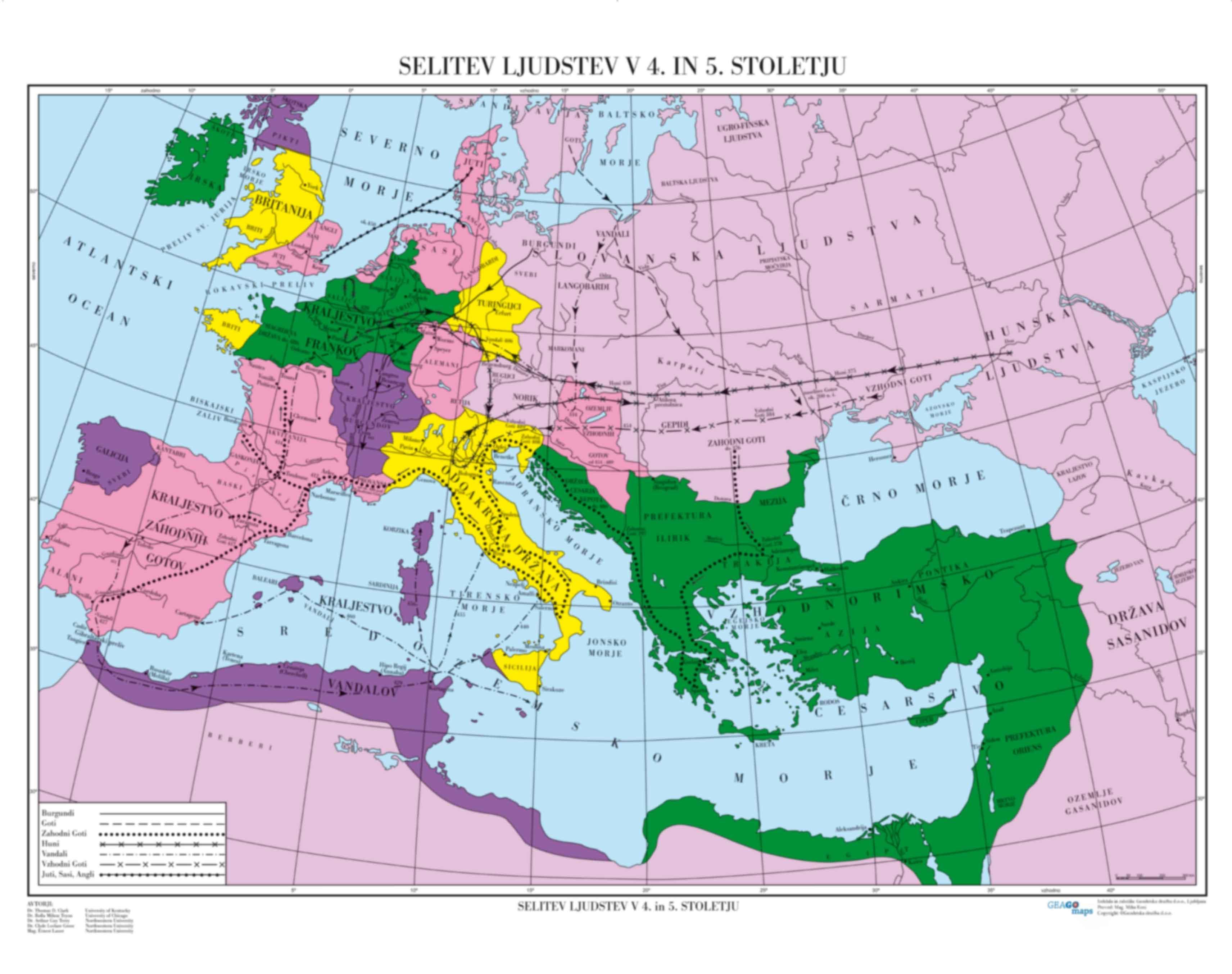 Selitev ljudstev v 4. in 5.stoletju